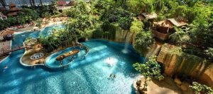 Het grootste tropische zwemparadijs ter WERELD!