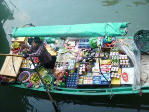 Halong bay - verkoopster