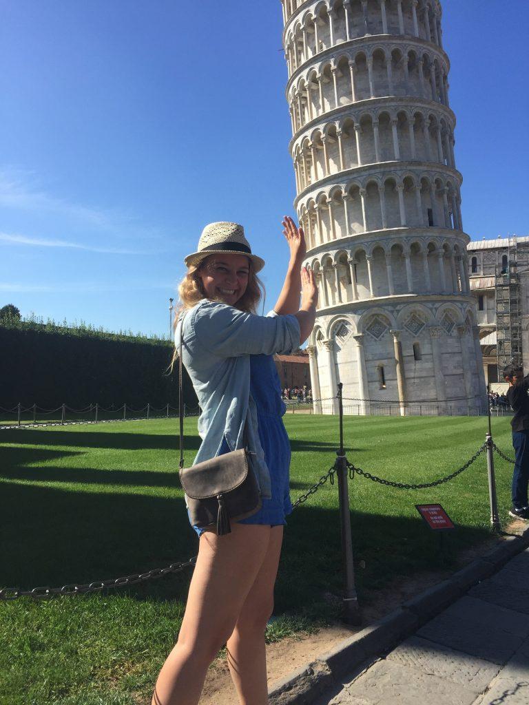 De Toren van Pisa - Italia 1